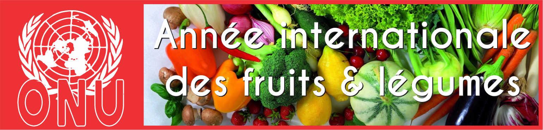 ONU Année Internationale des fruits & légumes
